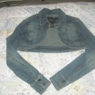 Cute blue jean jacket!
