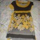 cute flowery dress size m