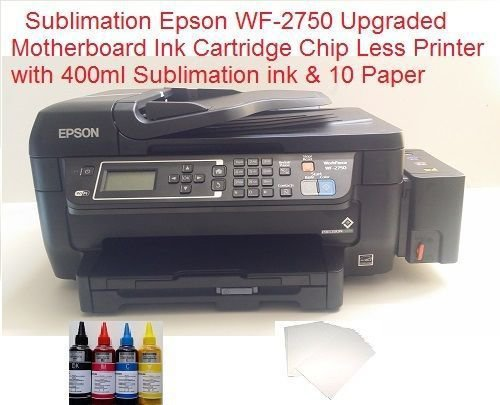Epson WF-2750 Sublimation ChipLess Ink Tank Printer