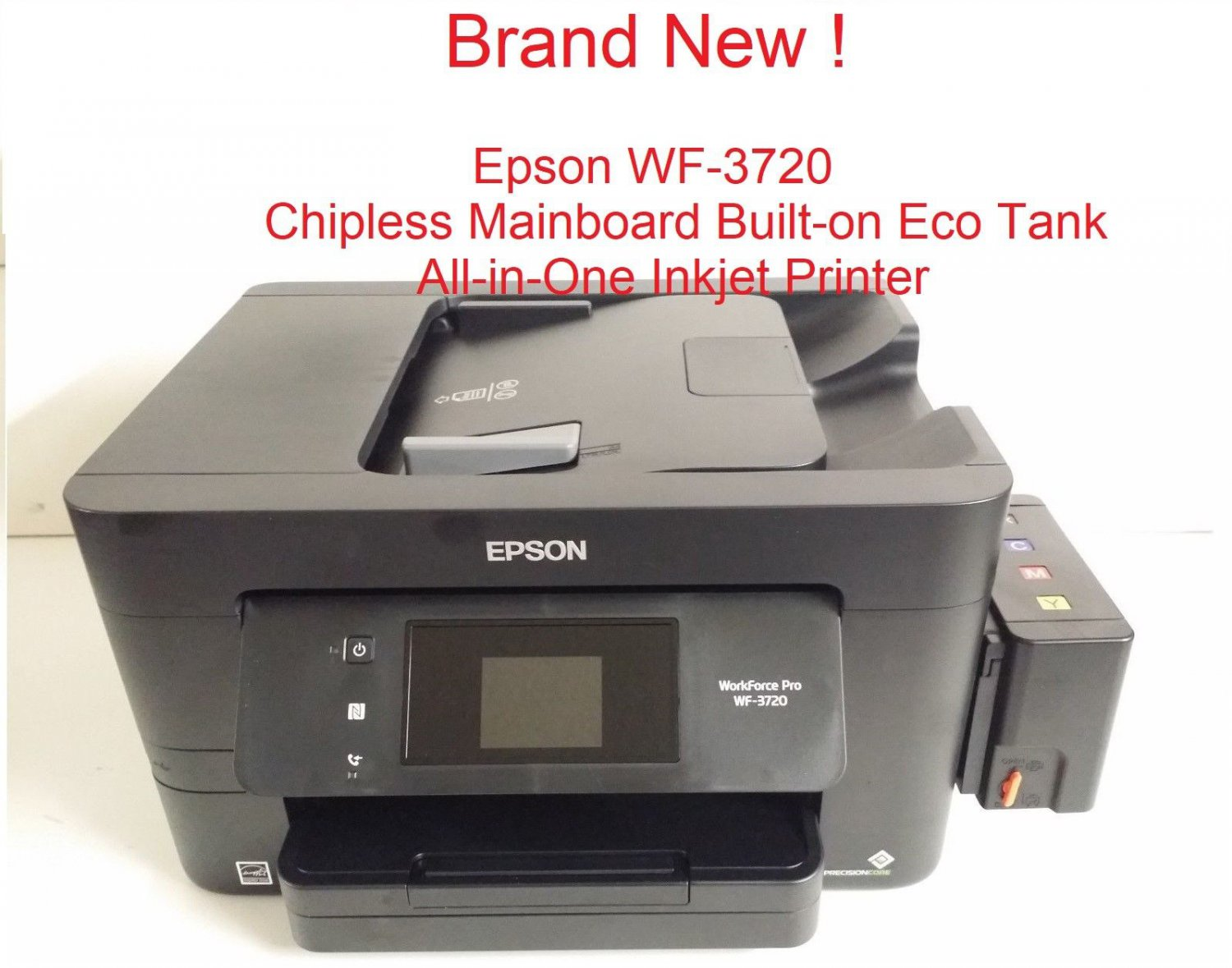 Epson WF-3720 Sublimation Chipless Ink Tank Printer