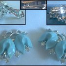 Lisner Bakelite Clip On Earring Set