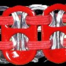 Aids Awareness Pop-Tab Bracelet (=)