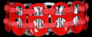 Aids Awareness Pop-Tab Bracelet (=)