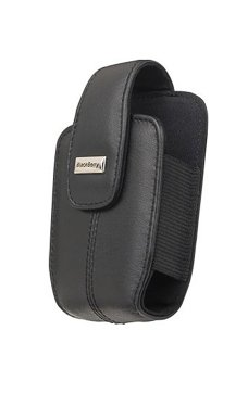 Blackberry RIM Curve Black Leather Pouch