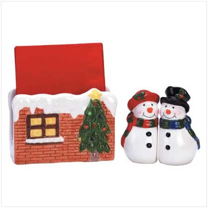 snowman table set