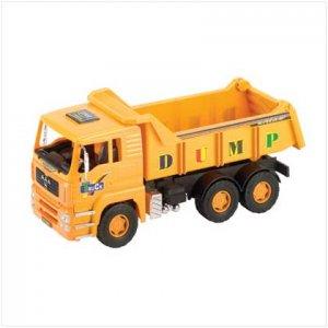 Friction powered dump truck
