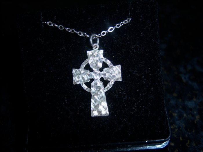 Sterling Silver Celtic Cross Vintage
