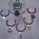Gems4Stems: Christmas Ornaments Wine Glass Charms