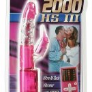 Beyond 2000 HS3 Multi-Function Vibe Pink