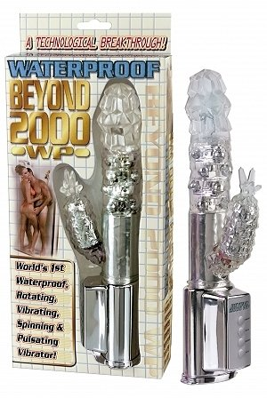 Beyond 2000 Waterproof MultiVibe Clear