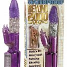 Beyond 2000 Waterproof MutliVibe Purple