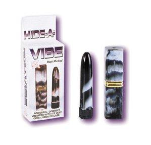 Hide-a-vibrator black