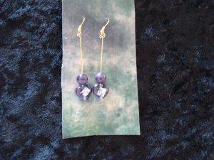 Purple Foil Heart