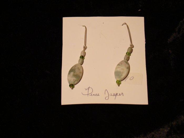 Peace Jasper earrings