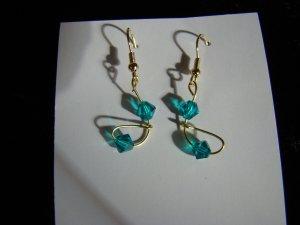 crystal blue design  blue