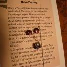 raku small pendant