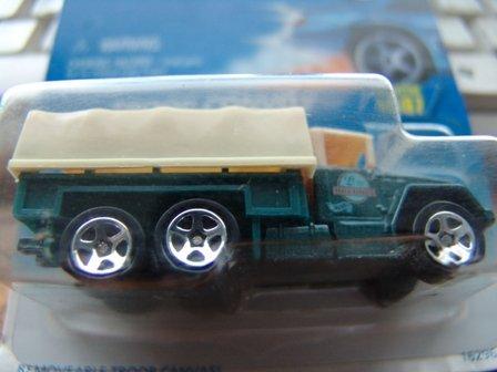 HotWheels troop convoy