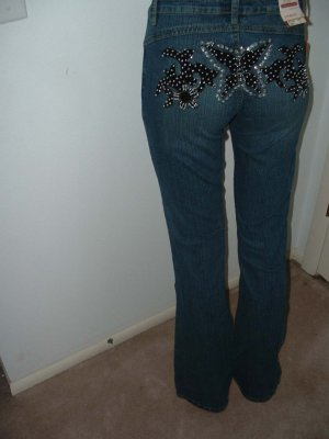 New Butterfly Design Jeans (Juniors)