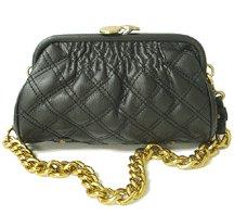 Fashion Quilted Kissback Handbag