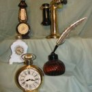 AVON COLLECTORS DECANTERS FIVE USED/NO BOX k211