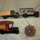 AVON TRUCKS/THREE/UNUSED/ NO BOX- K217