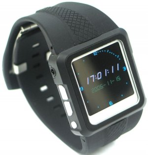 1.5 inch Mp4 Digital Watch Wiht 3-D Sound Effect Modes