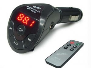 LED Display MP3 Player FM Transmitter with remote control