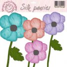 Imanitas Designs - Silk Pansies