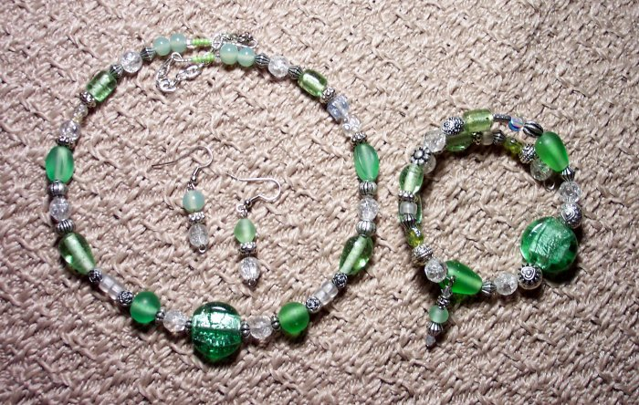 Green Memory Wire Set