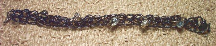 Black Woven Wire Bracelet
