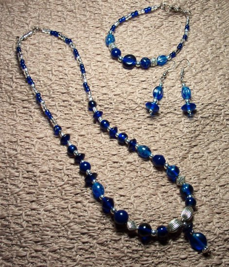 Blue and Silver Set