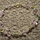 Pale Pink Linked Bracelet