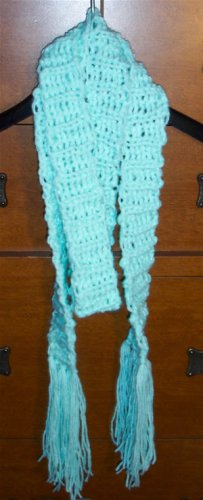 Minty Narrow Scarf
