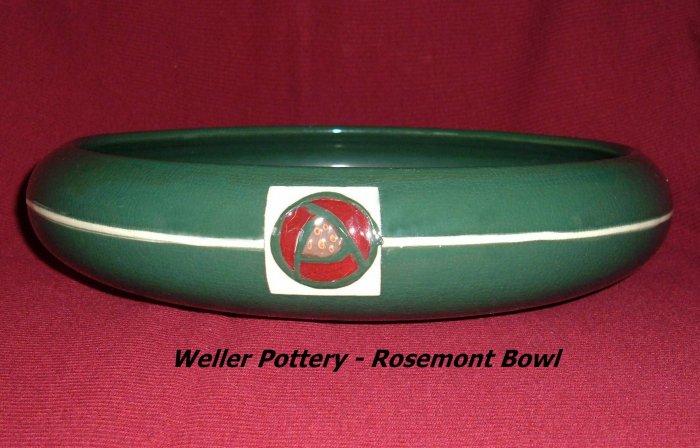 Weller Pottery Rosemont Bowl