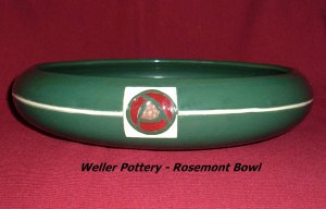 Weller Pottery Rosemont Bowl