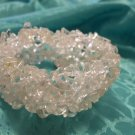 Quartz Six Strand Chip Bracelet
