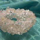 Quartz Six Strand Chip Bracelet