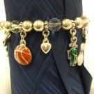Sports Charms  Bracelet
