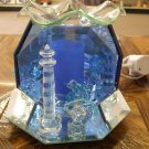 Lighthouse and Dolphins Oil Light Burner