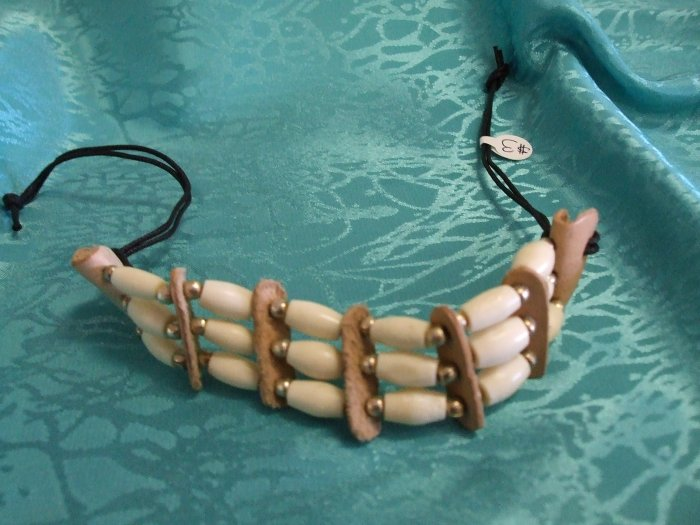 Three Strand Native Style Bracelet