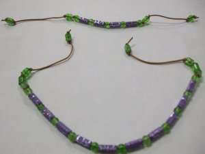 Child's Bracelet and Necklace Set HandCrafted                  (702)