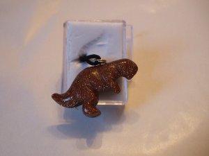 Goldstone T-Rex Gemstone Necklace             (EN06)