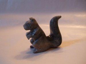 Jasper Squirrel Carving