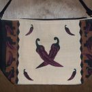 Chili Pepper Shoulder Bag/ Purse