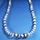 Swarovski Crystal Necklace Hand Crafted