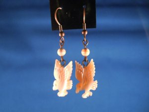 Eagle Hand Crafted Earrings