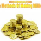 """""""The Methods of Making Millions"""" eBook - MAKE LOADS OF RUNESCAPE GP!"""
