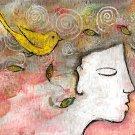"ACEO Art Card "" Persephone """