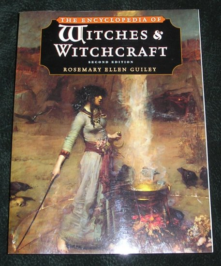 The Encyclopedia Of Witches & Witchcraft Second Edition Book New