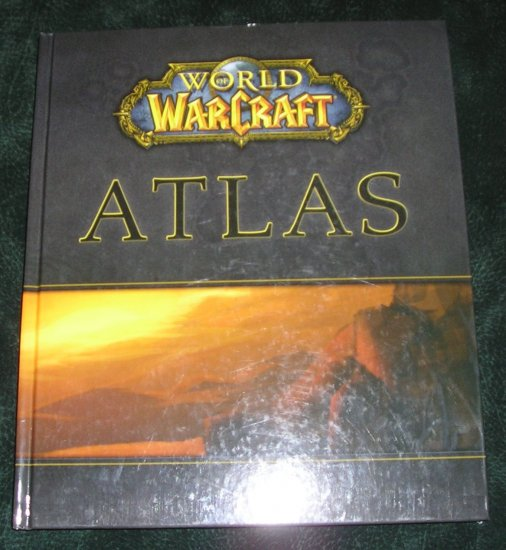World Of Warcraft Atlas Hardcover Book